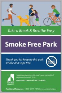 Olympia Smoke free