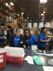 Providence volunteers