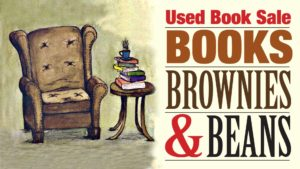 Books, Brownies & Beans Used Book Sale @ Olympia Unitarian Universalist Church | Olympia | Washington | United States