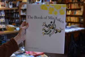 book of mistakes local author