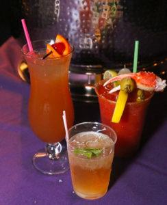 Little Creek Mardi Gras drinks