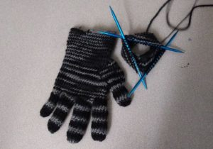 knitting, avanti high school