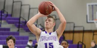 NTHS basketball, Garrett Wallace