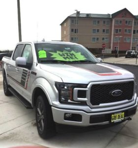 Quinault Beach Resort and Casino Win a New Truck