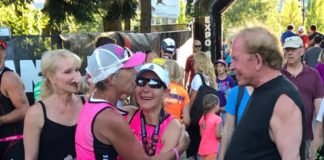 Roberts and Weber Coaching Diana Roberts Ironman Competition