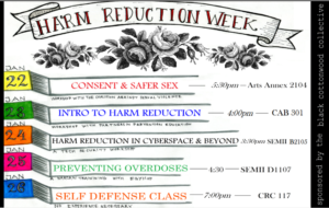 Harm Reduction Week: Consent & Safer Sex @ The Evergreen State College | Olympia | Washington | United States