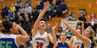 Black Hills girls regional basketball victory over Issaquah