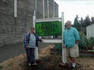 Bucoda Improvement Club Linda and Alan Vanell Community Garden