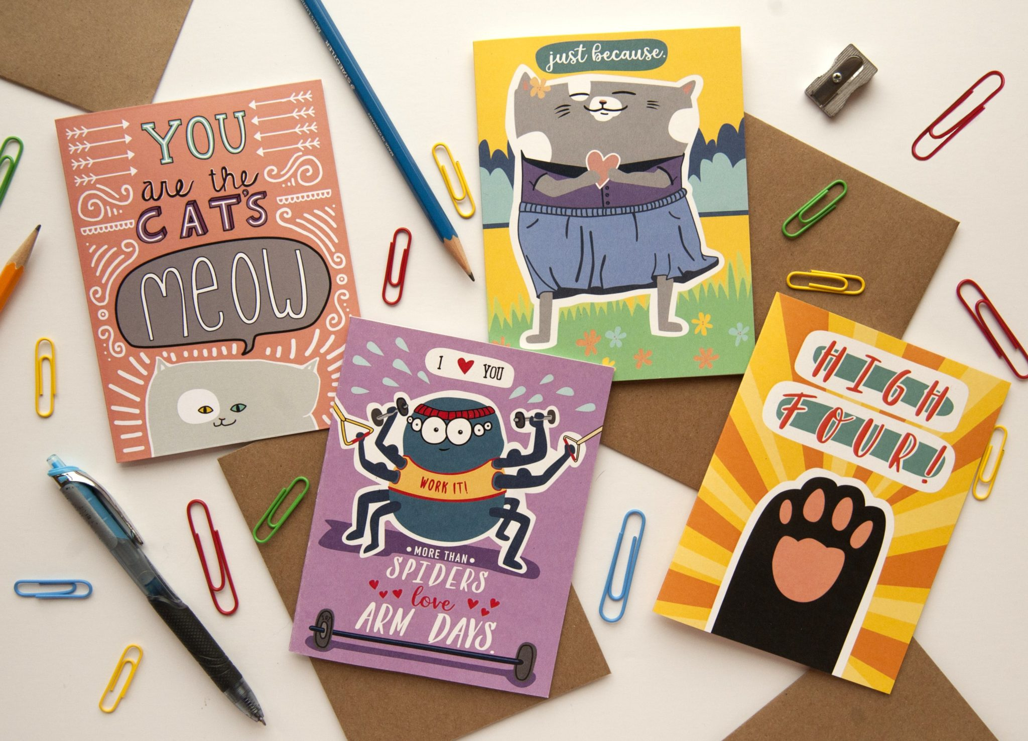 Cat Pants Studio cards for every occassion