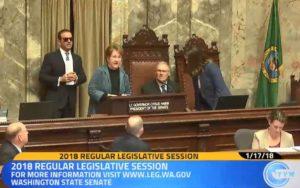 Karen Fraser SenateTribute