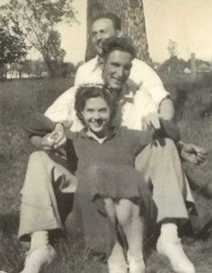 Lola Bowen Stancil 103 years Lola and Reece