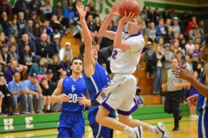 North Thurston High School Boys Basketball vs Seattle Prep