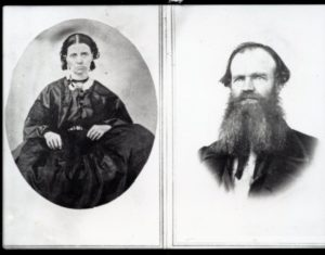 Captain Henness and wife