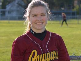 Peyton Uznanski Capital High School senior fastpitch