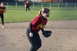 Peyton Uznanski Capital High School fastpitch batting average .700