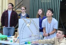 Pope John Paul II High School STEM catapult