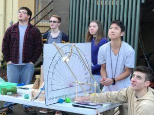 Pope John Paul II High School STEM catapult