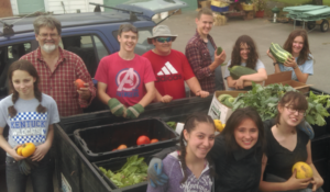 Pope John Paul II High School STEM students first harvest