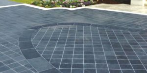 professional stone products - paved driveway