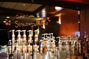 Quinault Beach Resort and Casino Coffee TT syrups