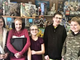 The Brickhouse Olympia LEGO excited customers