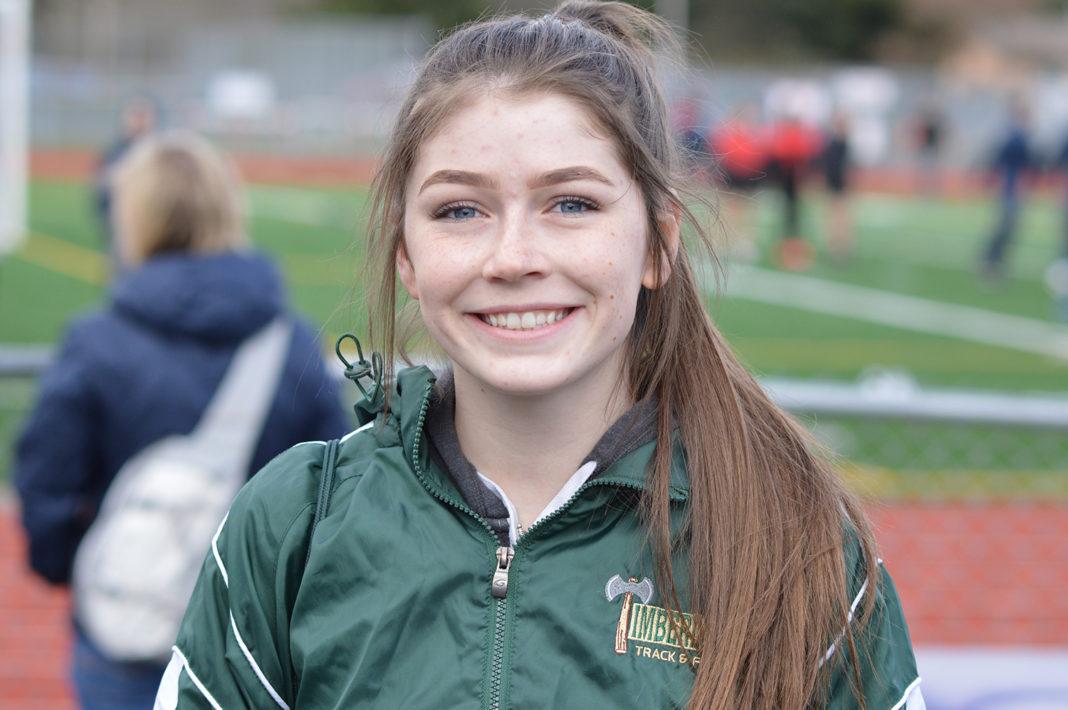 Timberline High School track Makenna Hansen senior