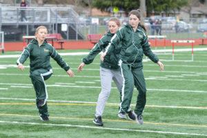 Timberline High School track Makenna Hansen South Sound Jamboree