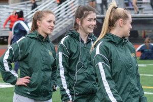 Timberline High School track Makenna Hansen record setter