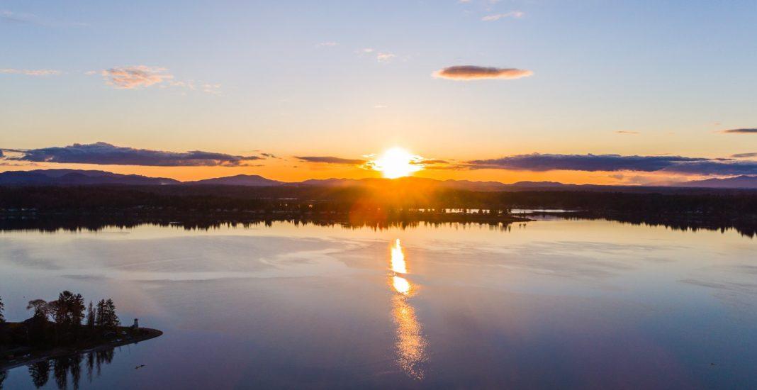 Sunrise Budd Inlet