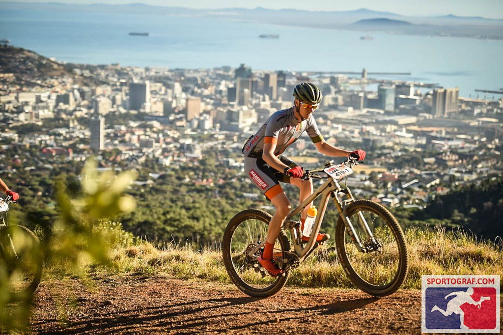 Cape Epic above Cape Town