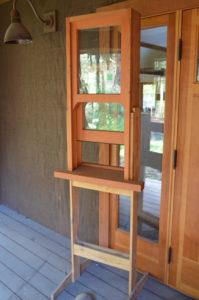 Eco Woodworks Olympia demo window