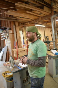 Eco Woodworks Olympia Devin shop manager