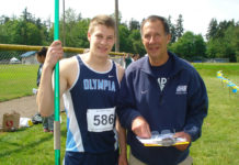 Olympia High School Dr Drew stevick with Ryan Underland