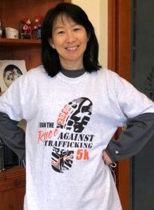 Race to End Trafficking Rose Gundersen