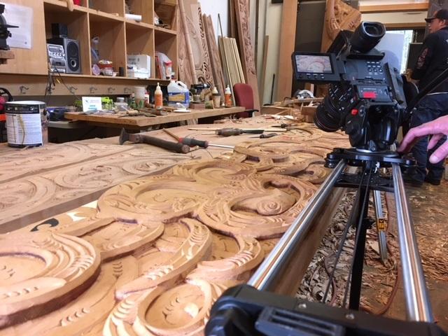 TESC Filmmaker Filming