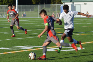Black Hills boys soccer  Bemnet Lester