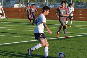 Black Hills boys soccer James Marimoto
