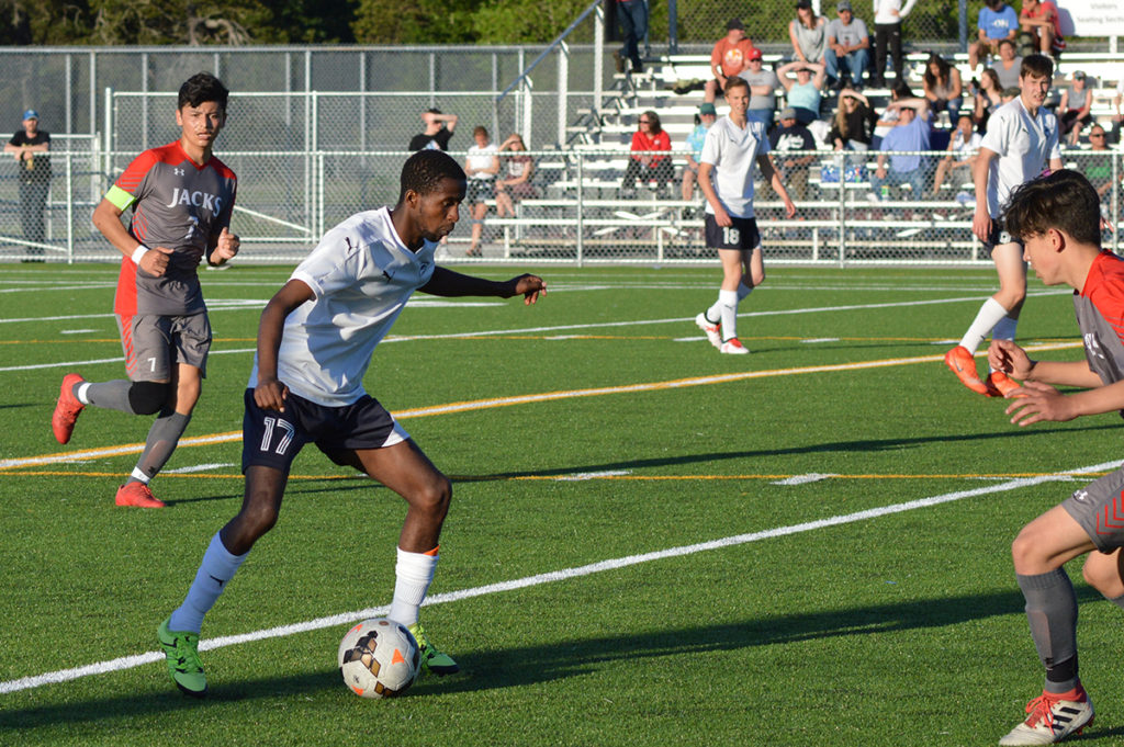 Black Hills boys soccer Yitagesu Dowty