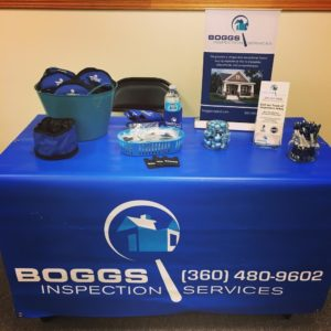 Boggs Inspection Services Heather Derrick Profile Marketing Table