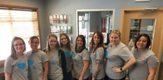 Foot and Ankle Associates Giving Back team