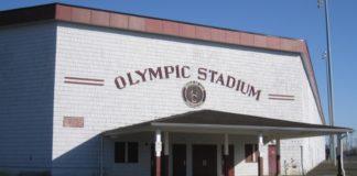Hoquiam Olympic Stadium History Entrance