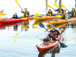 Kayak Nisqually Spring Sam Kaviar