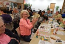 Olympia Federa Savings Senior Services for South Sound Bingo Night Lady