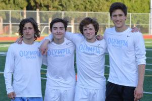 Olympia High School boys soccer seniors