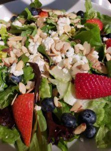 Pellegrinos Italian Kitchen Olympia summer salad
