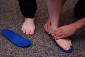 Penrose & Associates Physical Therapy Orthotic Fitting