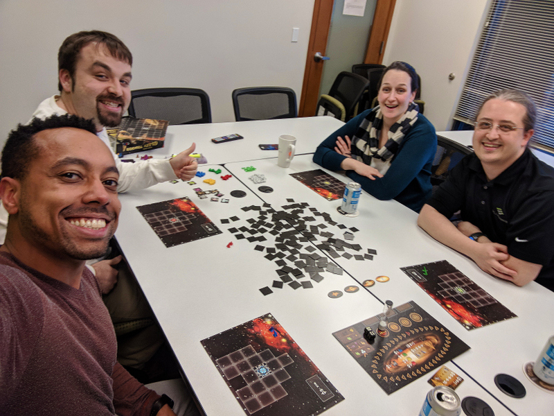 SCJ Alliance Lacey office game group event
