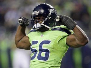 Seattle Seahawks Cliff Avril
