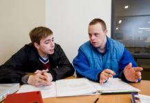 The Evergreen State College Dylan and Spencer develop skills