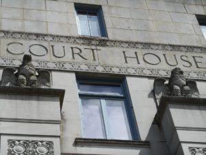 Thurston County Courthouse eagles